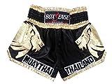 Boxsense Muay Thai Kick Boxing Hose BXS-303-Gold Grosse M