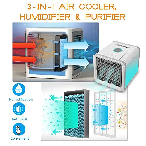 Zoom IMG-2 personal space air cooler condizionatore