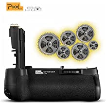 kilos Pixel Vertax E20 Impugnature Batteria per fotocamera Canon EOS 5D Mark IV DSLR(Sostituzione Canon BG-E20)