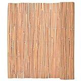 Esta valla de bambú de alta calidad cuenta con una amplia gama de funciones, como encerrando su espacio de jardín privado, la decoración de su tiki bar, la creación de un ambiente tropical en su patio como un bonito fondo.Sin duda, es una opción perf...