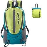 PACK BAGS Faltbarer Rucksack 20 Liter | Daypack, 2 Farben | für Einkauf, Tagesausflüge, Städte-Trips, Reisen | Ultraleicht (250 g) | Perfekt als Handgepäck für extra Stauraum | Damen, Kinder, Herren