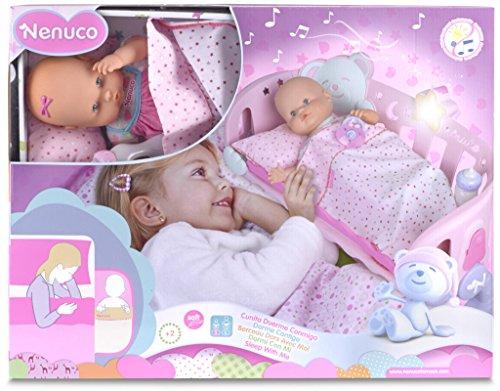 Nenuco- Dormi con Me Interattiva, Senza Baby Monitor, 700014059