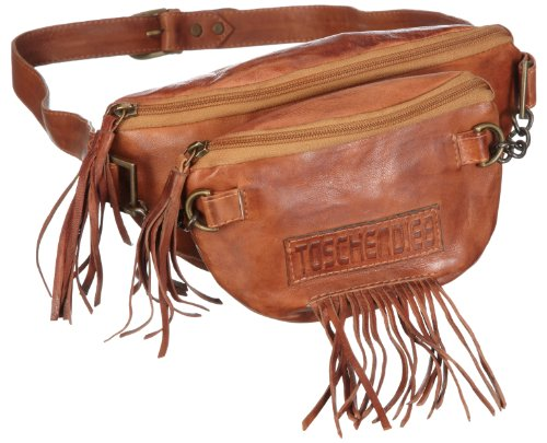 Taschendieb Sheep Women's Baguette Bag Brown/cognac 25x15x5