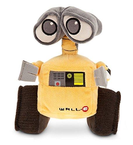 Disney Store Wall-e peluche 22cm originale Pixar robot Eve Walle nuovo