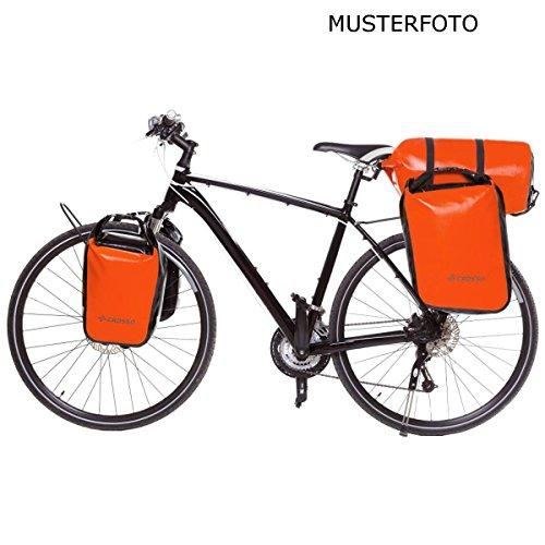 CROSSO DRY SMALL CO1010 30L Fahrradtasche Bike Gepäckträgertasche Gepäcktasche Orange