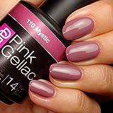 Pink Gellac 110 Mystic UV Nagellack. Professionelle Gel Nagellack shellac für mindestens 14 Tage perfekt glänzende Nägel