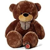 ToyBulk 4 Feet Tall Cofy Brown Colour Teddy Bears 48 Inch Birthday Special
