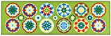 Viva Murrine Tappeto, Materiale Sintetico, Multicolore, 57x180x13 cm