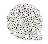 La Cija Dots Porzellan Tortenplatte mit Tortenschaufel, Weiß Gepunktet