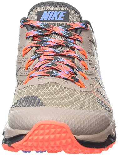 NikeWMNS NIKE DUAL FUSION TRAIL 2 - Scarpe Running Donna Multicolore (Black/Pink)