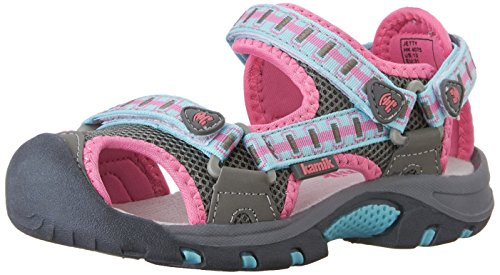Kamik Jetty Shoes Kids  2016 Sandale, Grau (Lightgrey), 36 EU (Sandale Jetty)