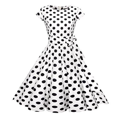 Vestidos de Mujer Elegantes 2019,Venmo Mujer Hepburn Vintage...