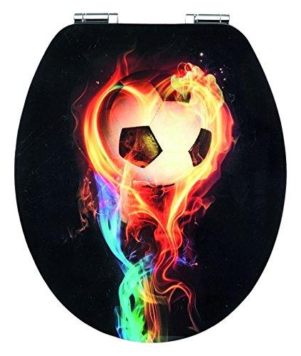 Preisvergleich Produktbild Cornat Art of Acryl WC-Sitz Fireball, KSDSC318