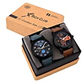 #7: Rich Club Analogue Black Blue Dial Mens|Boys Watch Rel-Denim