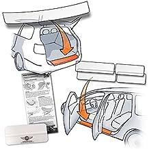 transparent 150/µm f/ür Modell Siehe Beschreibung 100/% zugeschnitten robust passend fertig Autofolie und Schutzfolie Lackschutzshop Passform Lackschutzfolie als Selbstklebender Ladekantenschutz