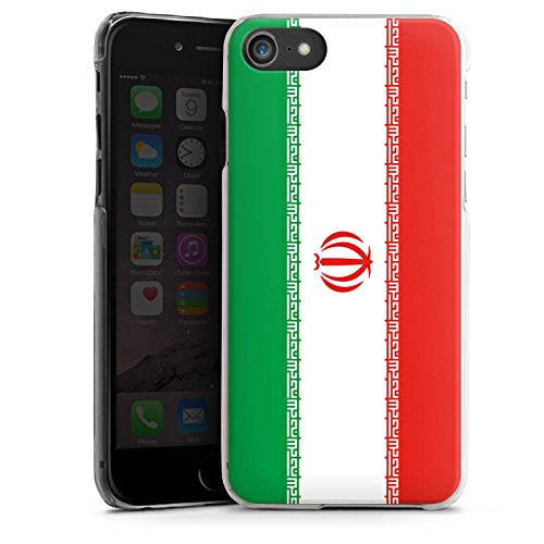 Apple iPhone X Silikon Hülle Case Schutzhülle Iran Flagge Fußball Hard Case transparent
