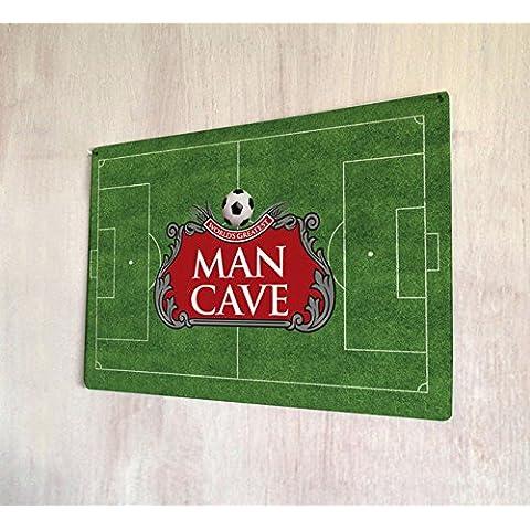 Man calcio Sign A4retro Metal Sign
