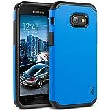 Samsung Galaxy A3 2017 Hülle, BEZ® Stoßfestes Etui, [Heavy Duty Serie] Outdoor Dual Layer Armor Case Handy Schutzhülle [Shockproof] robuste Hülle für Samsung Galaxy A3 2017 - Blaue Marine