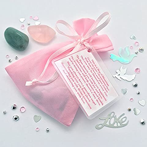 A Bag of Blessings for a Baby Girl on her Christening Day