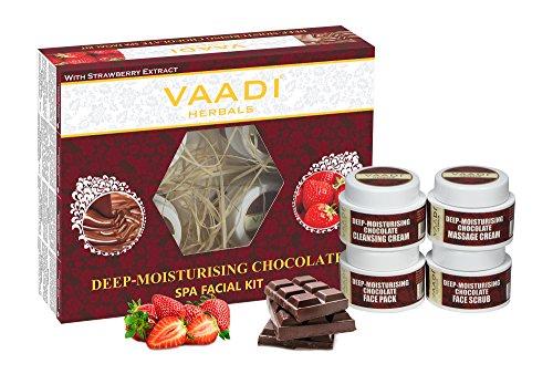 Vaadi Herbals profunda hidratante chocolate Kit Spa