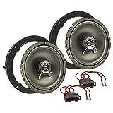 tomzz Audio 4057-006 Lautsprecher Einbau-Set für VW Golf Polo Passat Up Amarok Jetta Touran Lupo EOS 165mm