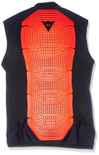 Dainese Protektorweste Ski Gilet Manis 13, Black/Fluo-Red, L, 4879915_628_L
