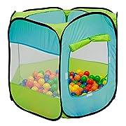 La bellissima casetta da gioco per bimbi di LittleTom è composta da una  tenda per bambini . Il perfetto, piccolo rifugio da montare nella cameretta dei bambini o in giardino, garantirà puro divertimento per tutti!  Le nostre tende giocattolo...