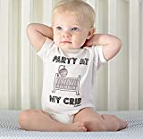 #8: BABY BODYSUIT Romper Dress for Girls & Boys || COTTON, White || 5-12 months || Party Wear || BEST GIFT for NEWBORN || Best Baby Products all || 100% Satisfaction Guarantee|| White