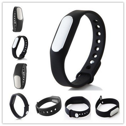 Mi Band Smart Wristband for Android, iPhone and Other Smartphones (Black)