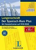 Langenscheidt Der Spanisch-Kurs Plus - Set mit 3 Büchern, 8 Audio-CDs und DVD-ROM