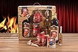 Feuerzangentasse Schatzkiste Geschenkset Feuerzangenbowle rot Störtebeker