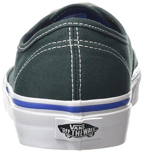 Vans Authentic, Baskets Basses Mixte Adulte Vert (green gables/true white)