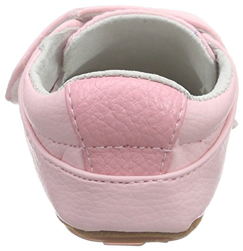Rose & Chocolat Bonbon Paris Pink, Chaussons pour enfant bébé fille Rose - Rose