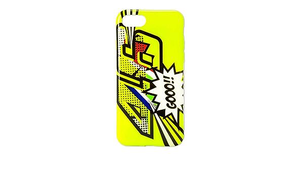 VR46 - Cover per Apple iPhone 7 e iPhone 8, motivo: Valentino ...