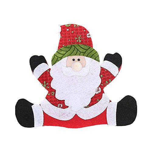 LoveLeiter Dekoration kreative Home Party Gabel Set Hut Baum Storage Tool Weihnachten Tasche Weihnachten Mädchen Junge Kreatives Geschenk Neuheit (A)