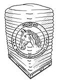MiroPell Miscanthus Einstreu Pellets 8 mm Palette 1 Palette
