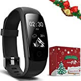 Fitness Tracker, moreFit Slim Touch Activity Tracker Orologio Cardiofrequenzimetro Impermeabile IP67 Cardio Frequenzimetro Pedometro Bluetooth Smart Watch Braccialetto Wristband da Polso Donna Uomo