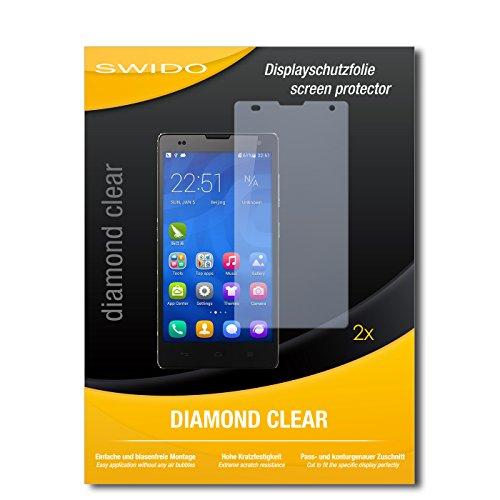 2 x SWIDO® Bildschirmschutzfolie Huawei Honor 3C Schutzfolie Folie