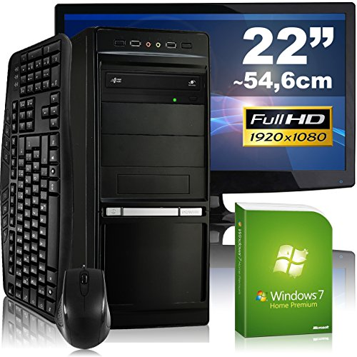 Multimedia-PC-tronics24-Optimus-a6685L-Komplett-Set-AMD-A8-6600K-4x-39GHz-16GB-RAM-AMD-HD8570D-4GB-1000GB-HDD-DVD-RW-Gigabit-LAN-71-Sound-Win7HP-55cm-22-TFT-Tastatur-Maus