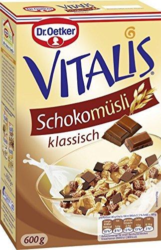 Dr. Oetker Vitalis Schoko Müsli, 600 g (Schoko-haferflocken)