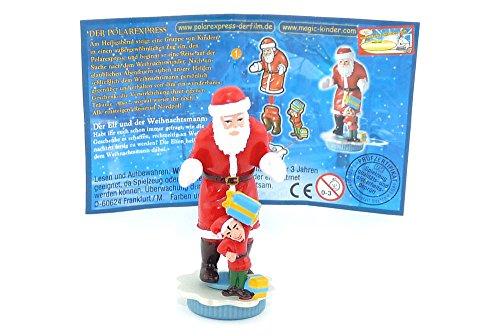 Kinder Überraschung Elf und der Weihnachtsmann (Polar Express)