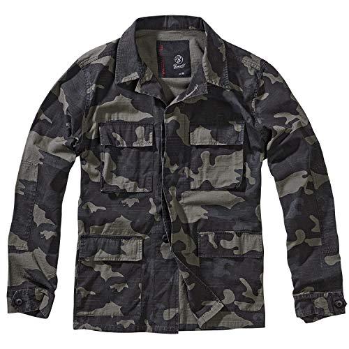 Brandit BDU Ripstop Jacket, darkcamo, 4XL