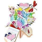 Geburtstagskarte Segen Karte Pop Up 3D Karte DIY Kit Geschenk Grußkarte Dankeschön-Karte Urlaub Rosa Lily Bouquet Pop Up Karte machen Tools mit Umschlag 3 Sätze/Pack