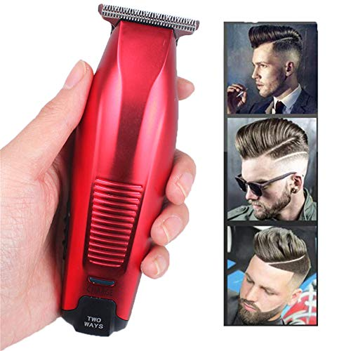 Forcina Per Capelli Cordless 0 Millimetri Barba Hair Trimmer Fai Da Te Tagliacapelli Taglio Di Capelli Macchina USB Ricaricabile Cordless Barbiere