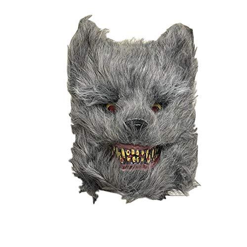 Maskenade Horror Gruselkopf Set Halloween Bar Show Requisiten ()