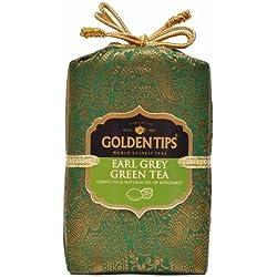 Golden Tips Earl Grey Green Tea Brocade Bag (200g)