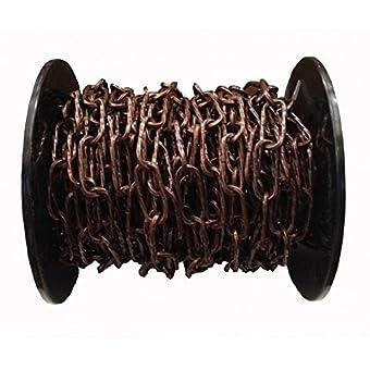 Abus BOMLRBR035-20 m Bobine chaîne Bronze maillon Torsadé-Longueur 3,5 mm
