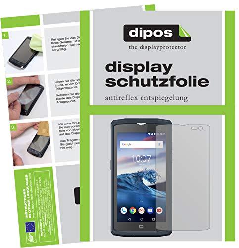 dipos I 6X Schutzfolie matt passend für Crosscall Core X3 Folie Bildschirmschutzfolie
