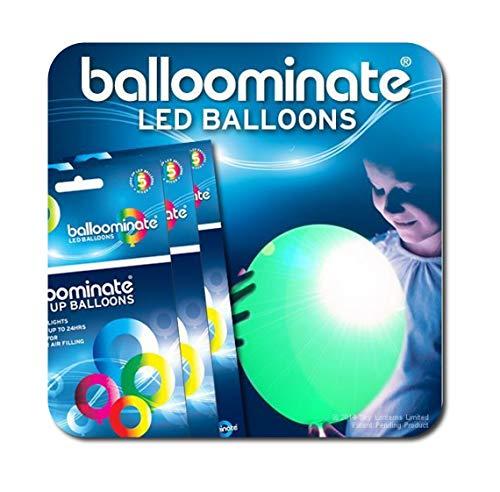 Grün-15Pack, grün LED-Licht bis BALLOOMINATE Luftballons. Toll für Partys und Feiern.