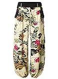 BAISHENGGT Mujer Pantalones de Pernera ancha